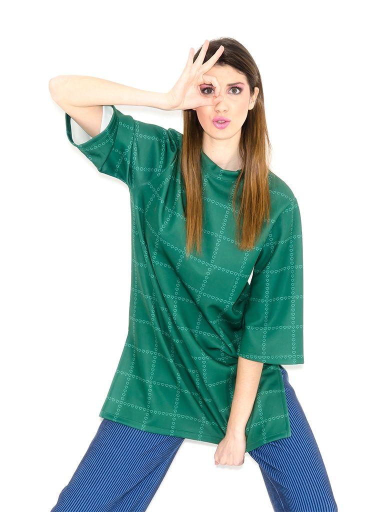 GREEN DRESS MINIHEARTS