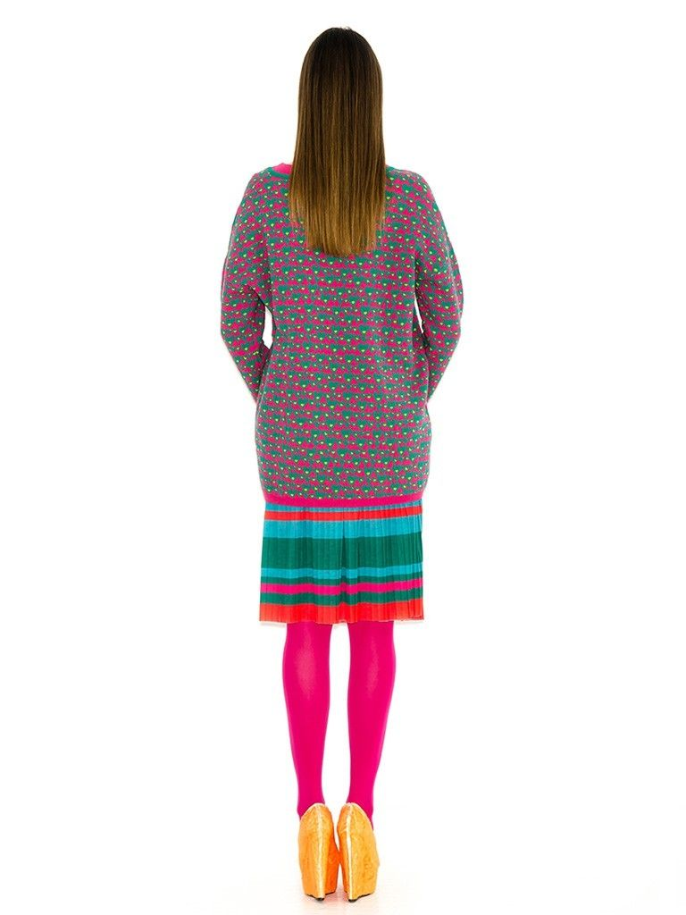 HEARTS PINK  PULLOVER