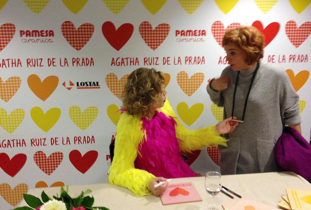 inauguraciÓn muebles de baÑo y azulejos en lostal (santander ... - Azulejos Bano Agatha Ruiz Dela Prada