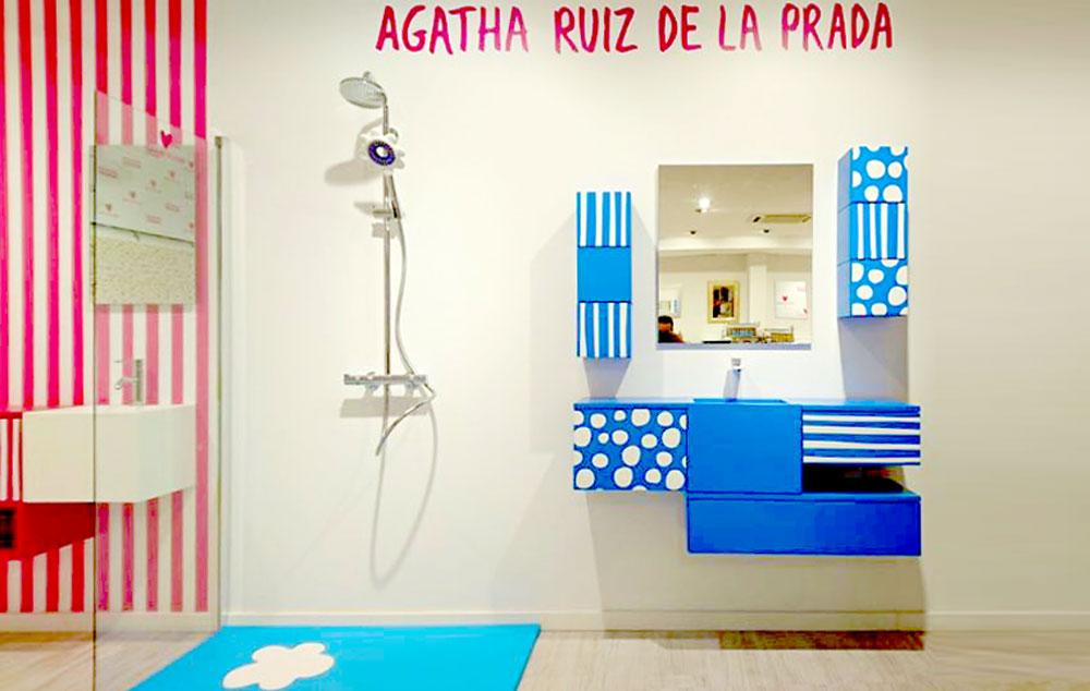 Azulejos Baños Agatha Ruiz Dela Prada: DE DUCHA EN AZULEJOS MONCAYO (ZARAGOZA) – AGATHA RUIZ DE LA PRADA