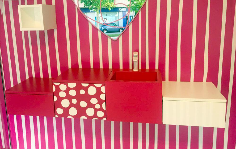 Azulejos Baños Agatha Ruiz Dela Prada:Agatha Ruiz de la Prada presenta su colección de azulejos para Pamesa