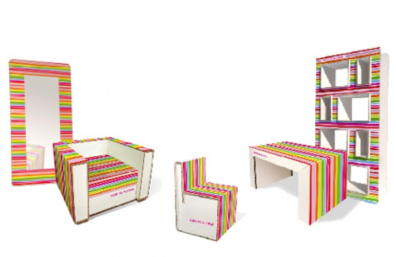Muebles carton paso paso top diy cardboard cash register - Muebles de carton ...