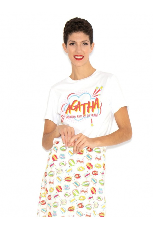 CAMISETA AGATHA COMIC
