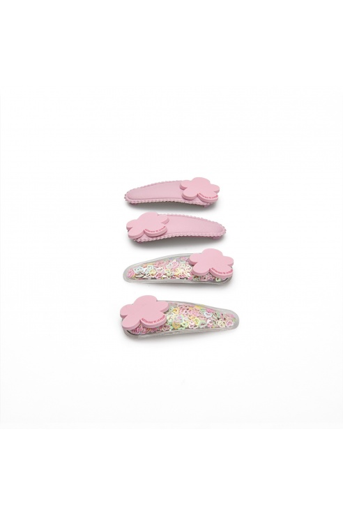 PACK CLIPS ROSA