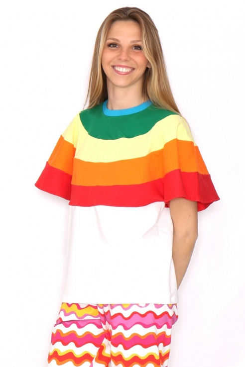 CAMISETA ARCOIRIS