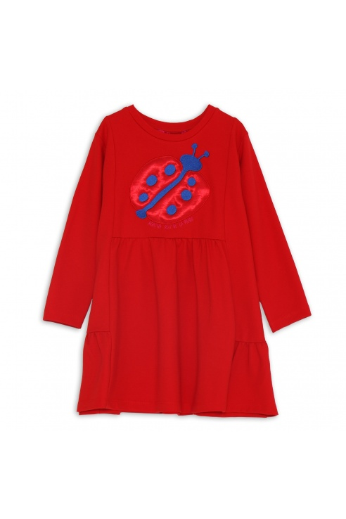 RED LADYBUG DRESS