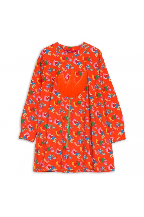TULIP PRINT DRESS