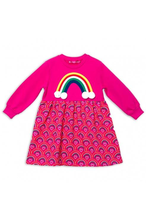 RAINBOW SKIRT DRESS