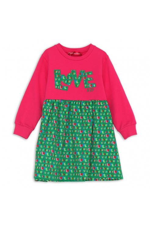 LOVE GREEN DRESS