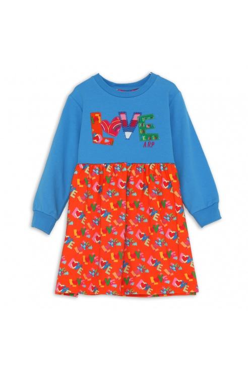 LOVE ORANGE DRESS