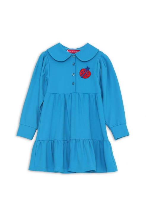 ROBE COCCINELLE TURQUOISE