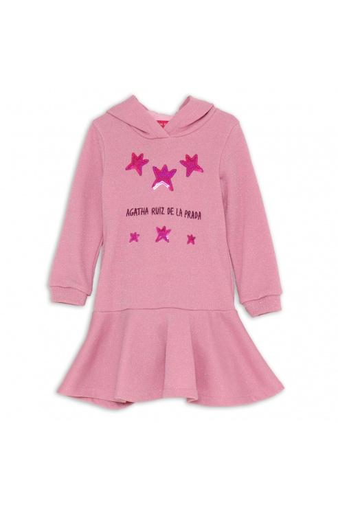 PINK STAR DRESS