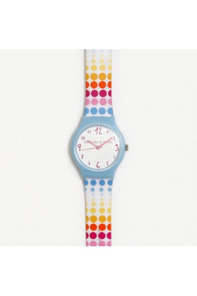 COULEURS DES POINTS DE L'HORLOGE