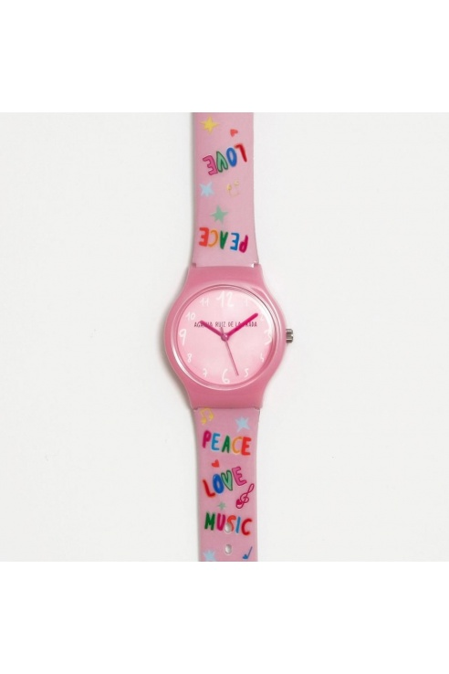 RELOJ PEACE, LOVE & MUSIC