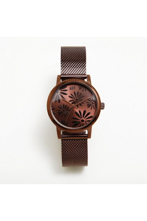 RELOJ MAYA MARGARITAS CHOCOLATE