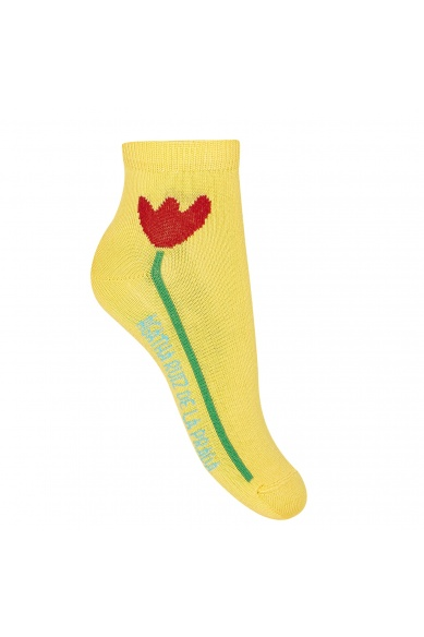 ANKLE SOCKS WITH A TULIP
