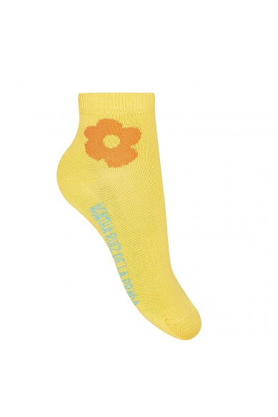 ANKLE SOCKS WITH A FLOWER