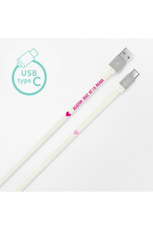 CABLE BLANCO TIPO-C