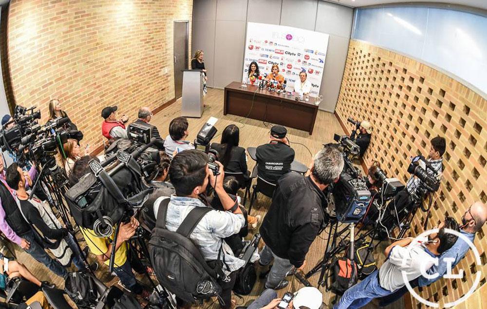 rueda de prensa ifls eici 2016  bogot u00c1   u2013 agatha ruiz de la prada