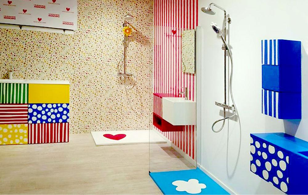 Muebles de ba o y platos de ducha en azulejos moncayo zaragoza agatha ruiz de la prada - Azulejos ducha ...