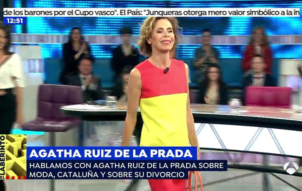 Programa tv espejo p blico madrid agatha ruiz de la for Espejo publico verano
